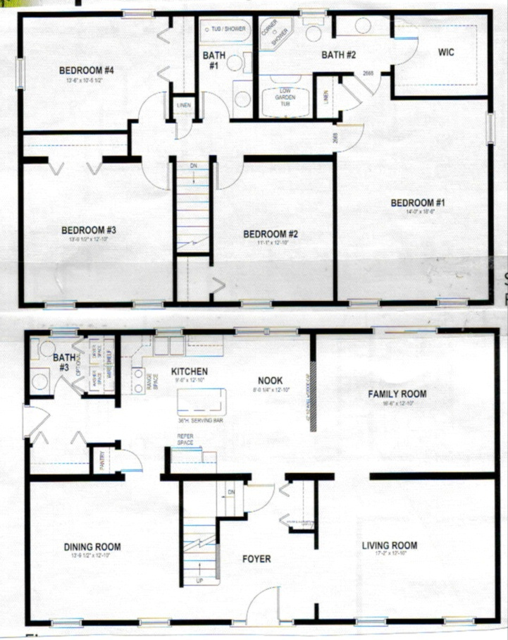 free home plans 1 1 2 story house plans ForFree Two Story House Plans