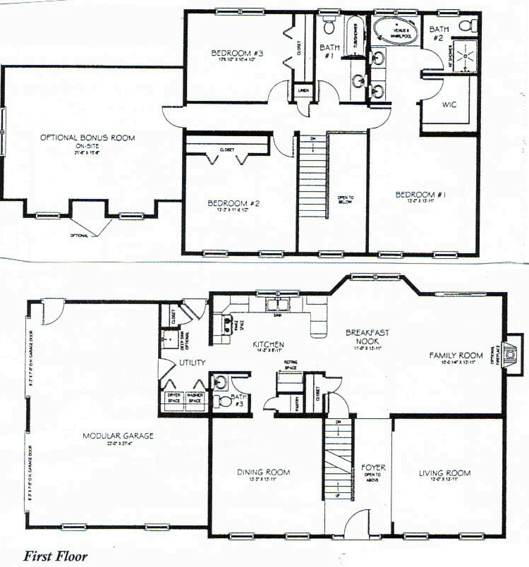 Two story house plans malvernweather Choice Image