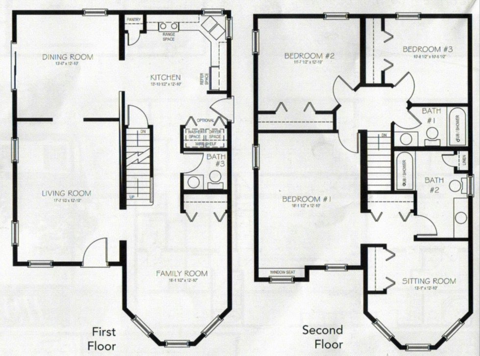 Remarkable 1 1 2 Story House Plans 1 Story 2 Bedroom House Plans Story Home Largest Home Design Picture Inspirations Pitcheantrous