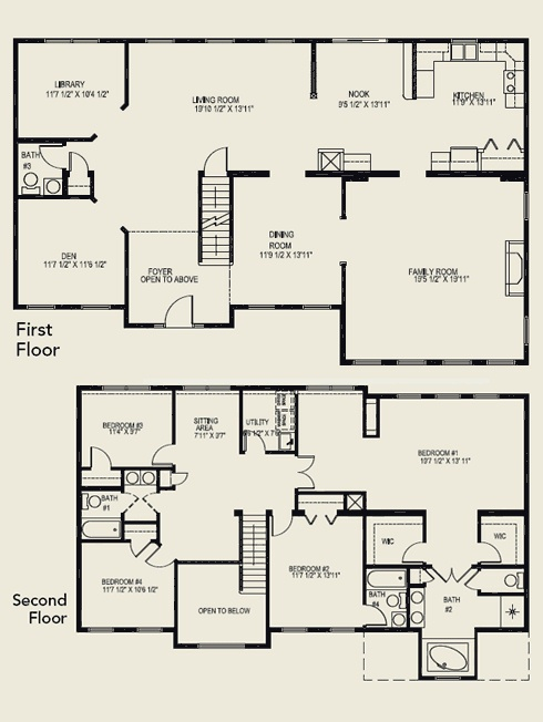 Two story house plans for Free two story house plans
