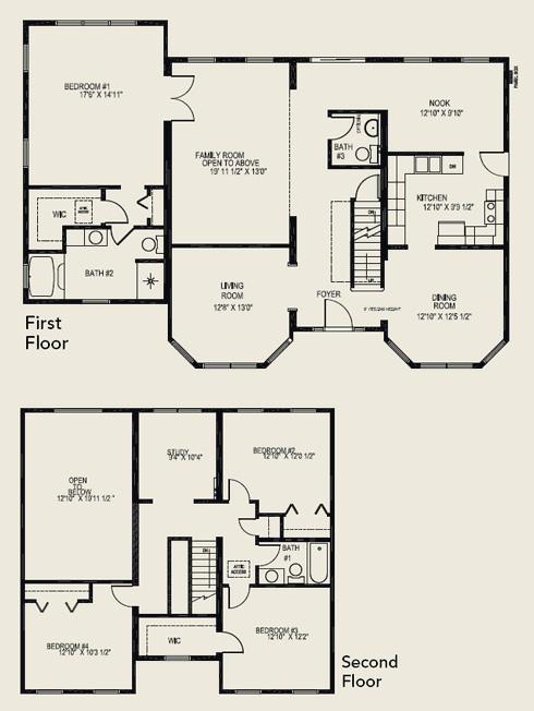 Floor Plans 4 Bedroom 3 Bath 2 Story | www.resnooze.com